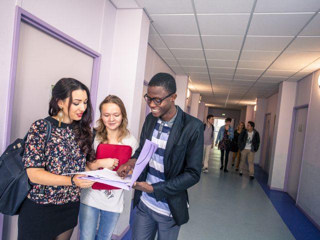 Etudiants Fac de Lettres Limoges