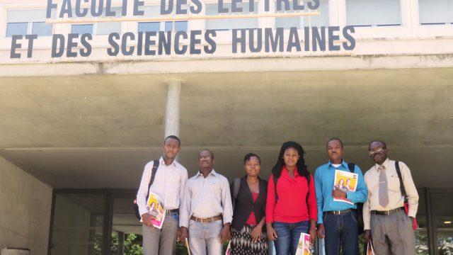 étudiants haïtiens Limoges