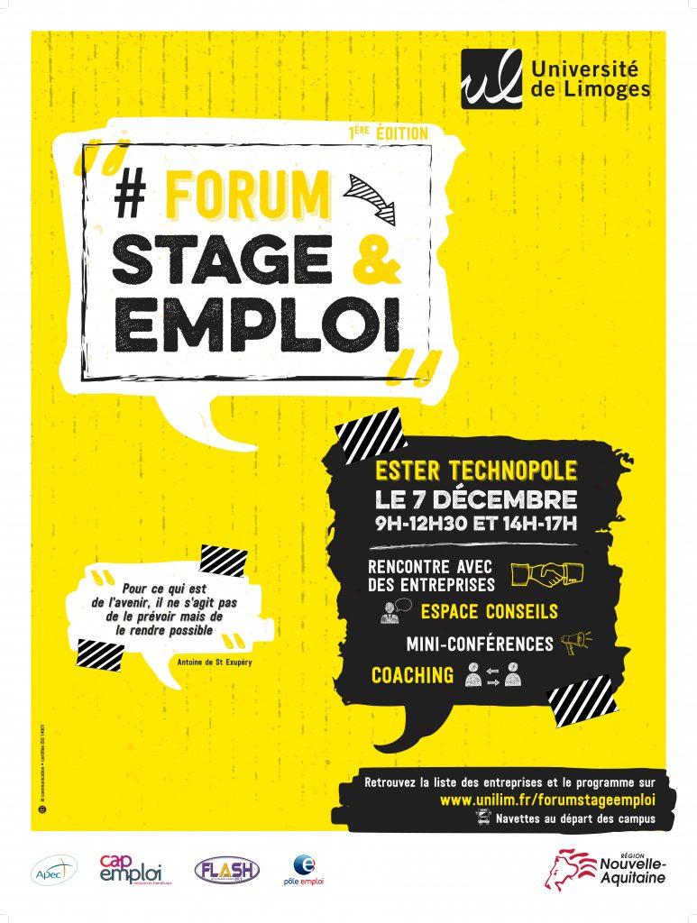 Forum stage emploi